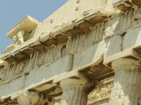 Acropolis - The Parthenon - detail